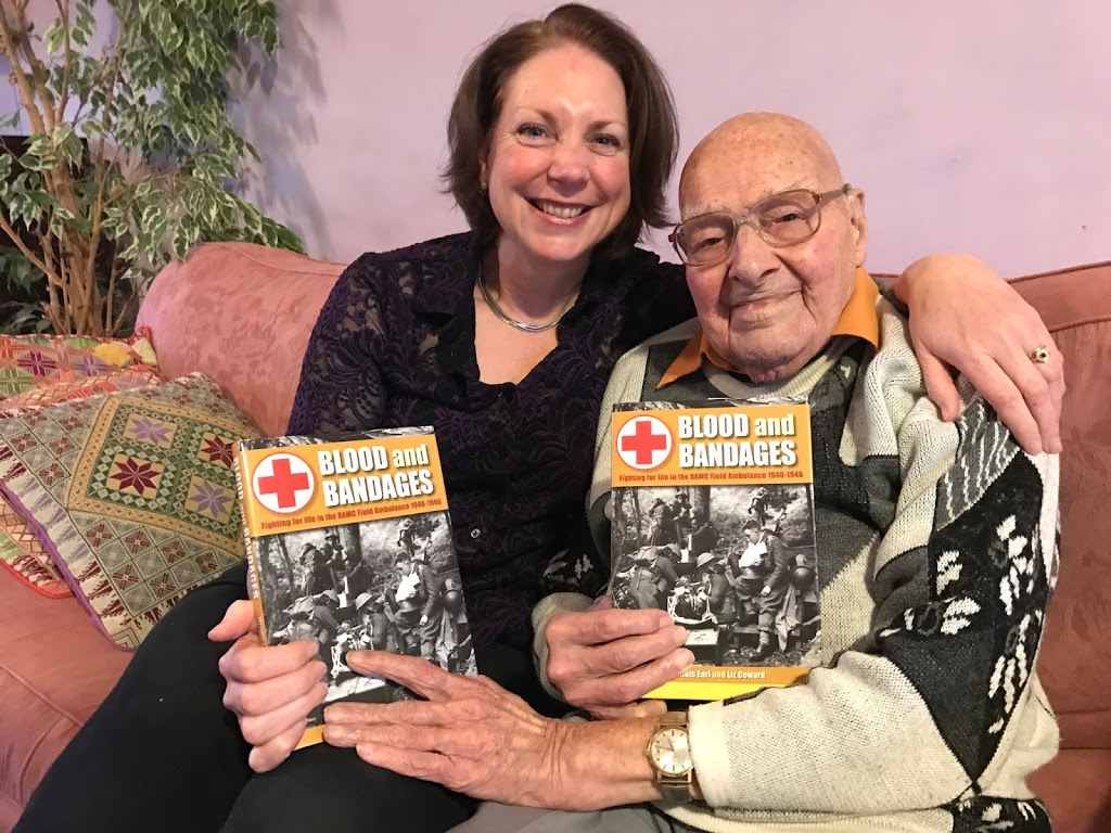 Autumn Book Talks on Blood and Bandages – fighting for life in the RAMC Field Ambulance 1940 -1946