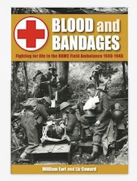 Shoreham book talks on Blood and Bandages – fighting for life in the RAMC Field Ambulance 1940 -1946.